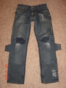 ZZ A Vega DETECTIVE PANTS CONVERSION TO lEVIS 514 sLIM jEANS 091315 (2)